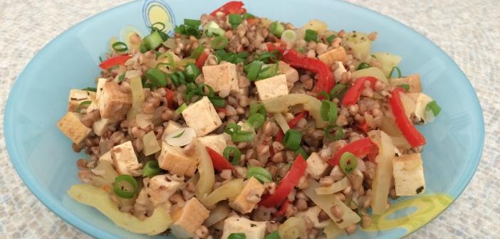 Tofu s pohankou