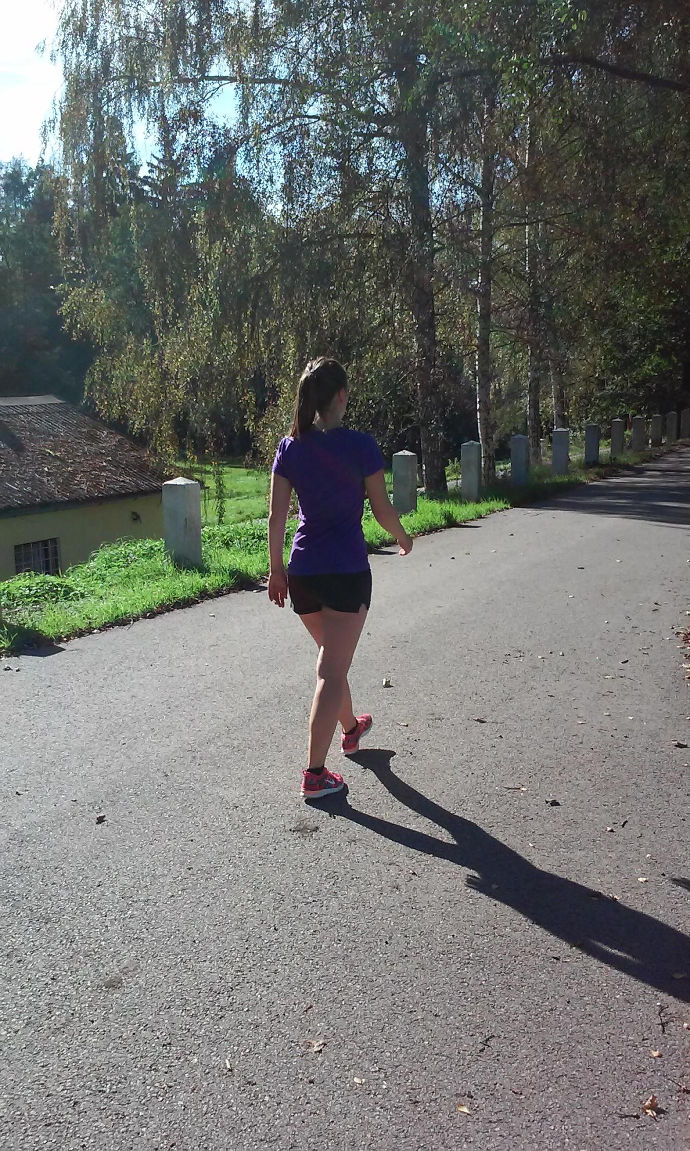 Chůze prospívá nejen tělu, ale i psychice.