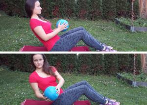 Core cvičení ruský vrut
