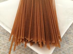 Celozrnné semolinové špagety