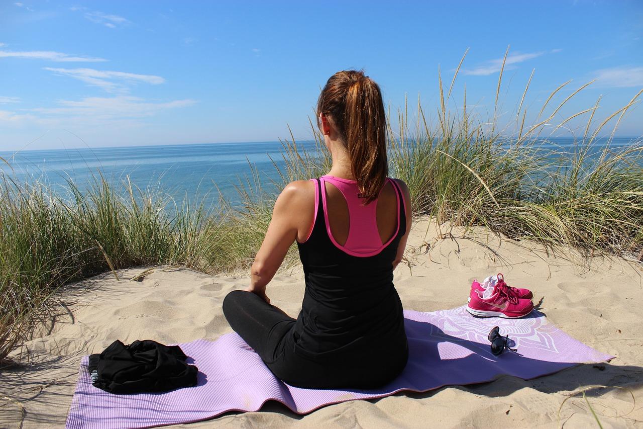 Meditace v přírodě