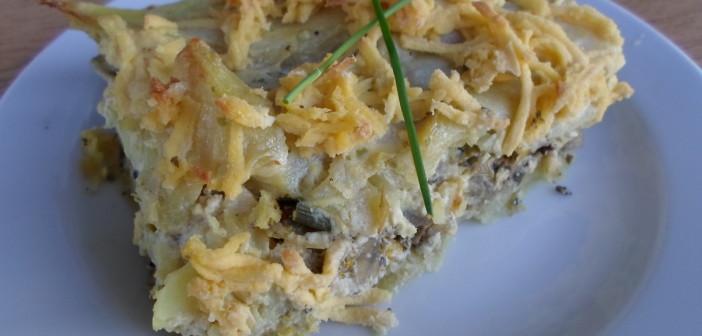 Veganské brambory